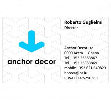 Anchor Decor_Marchio_Biglietti visita_2008