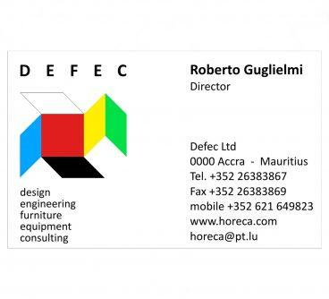 DEFEC_Marchio_Biglietto visita_2012