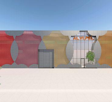 Uffici – Produzione – Alvipel – Restyling Facciate – Turbigo, I – 2020