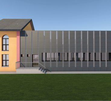 Scuola Musica – Restyling Facciate 1 – Robecchetto, I -2020