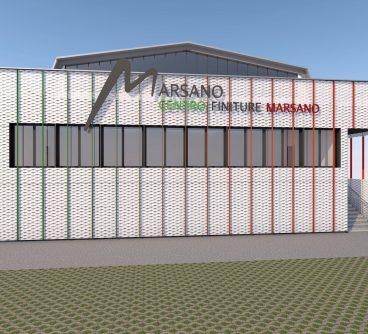 Sede Commerciale – Centro Finiture Marsano – Restyling facciate – Nerviano, I – 2020