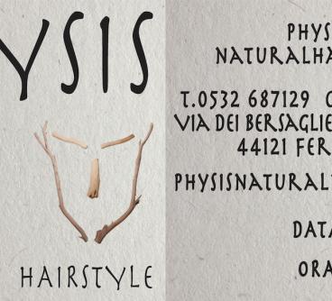 Physis – Biglietto visita, 2021