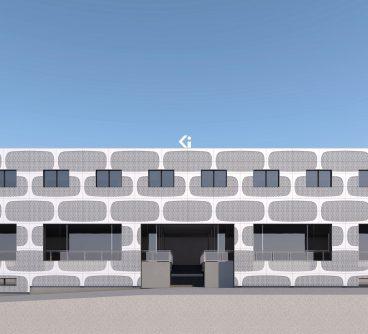 Sede Commerciale – Uffici – Ghielmimport SA – Restyling Facciate – Mezzovigo, CH – 2020