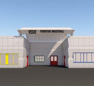 Sede Commerciale – Vego Ferramenta – Restyling Facciate – Nerviano, I – 2021